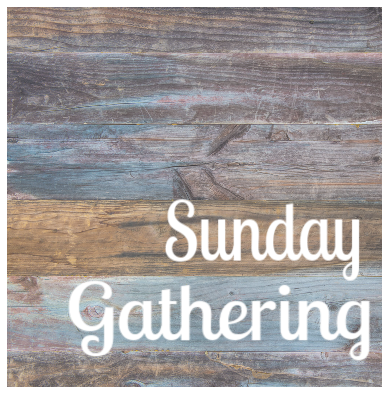 Sunday Gathering